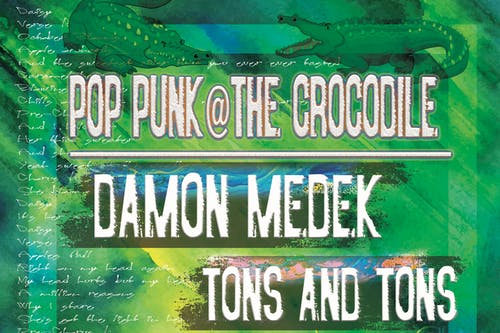 Damon Medek @ The Back Bar