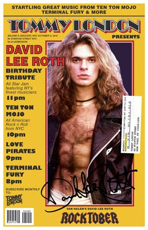 David Lee Roth Tribute