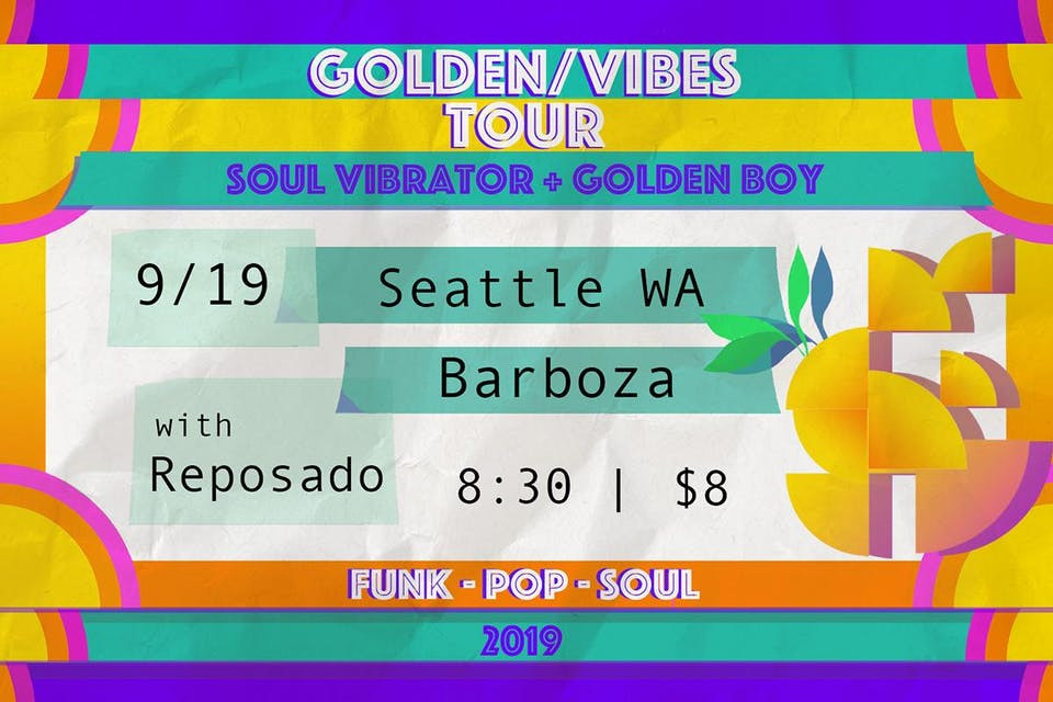 Soul Vibrator with Golden Boy + Reposado