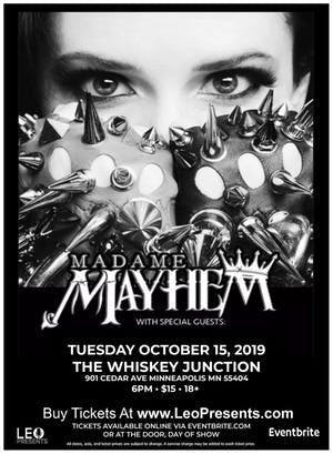 *Whiskey Junction* MADAME MAYHEM