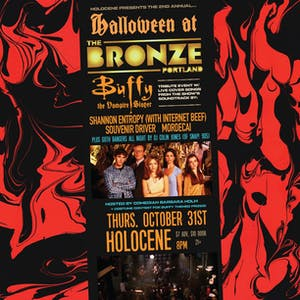 Halloween at the Bronze: Buffy the Vampire Slayer  Tribute Party