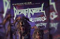Death Angel w/ Exmortus, Hellfire
