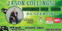 Jason Collings as seen on The Tonight Show, Gotham Comedy Live and more!