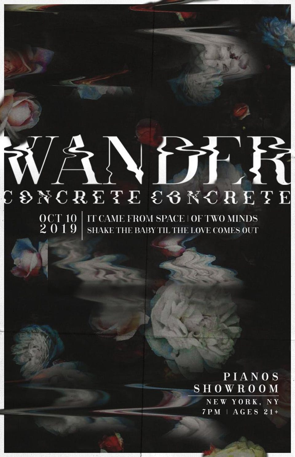 Concrete Concrete, Wander, It Came From Space, Of Two Minds, StBTtLCO