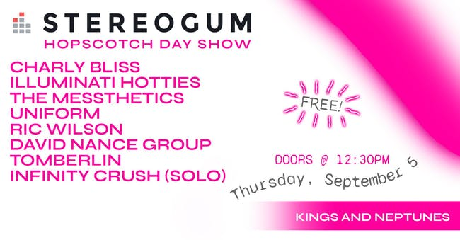 Stereogum Showcase at Hopscotch Music Festival