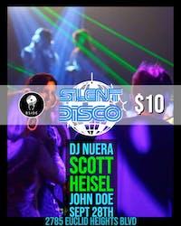 Silent Disco w/ DJ's NuEra / Scott Heisel / Jon Doe