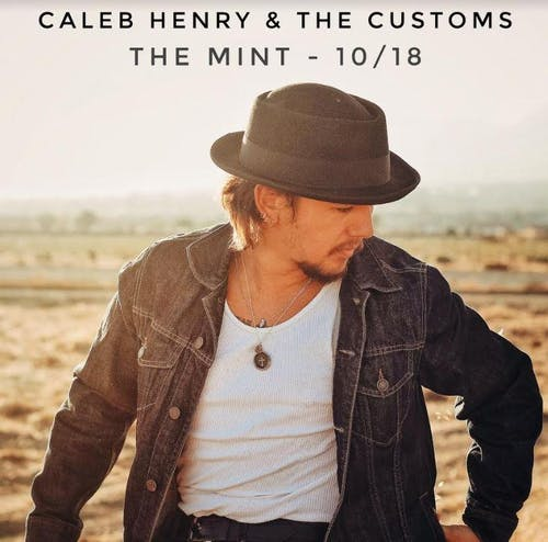 Caleb Henry & The Customs, Hey King!, Elijah Wells, Retro Color
