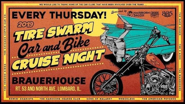 Tire Swarm Car & Bike Cruise Night Thursdays