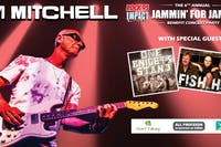 KIM MITCHELL, Fish Head & One Knight's Stand JAMMIN' For JAMIE 2019