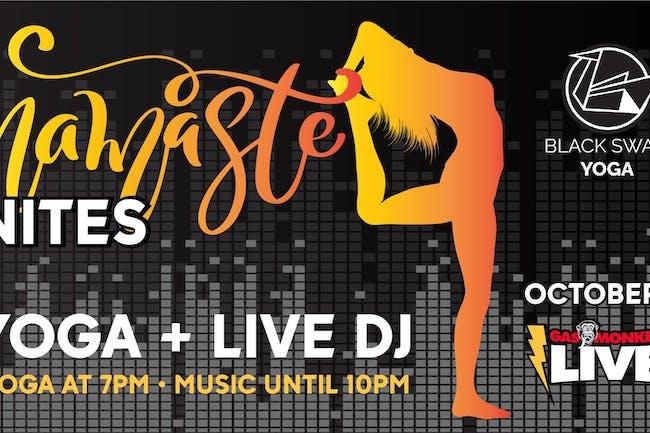 Namaste Nites (Live DJ Yoga)