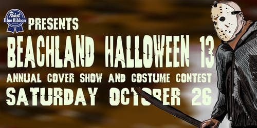 Beachland Halloween Annual Cover Show & Costume Contest