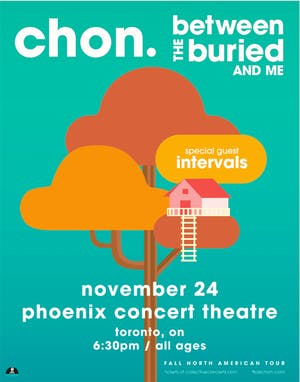 CHON, Between the Buried and Me