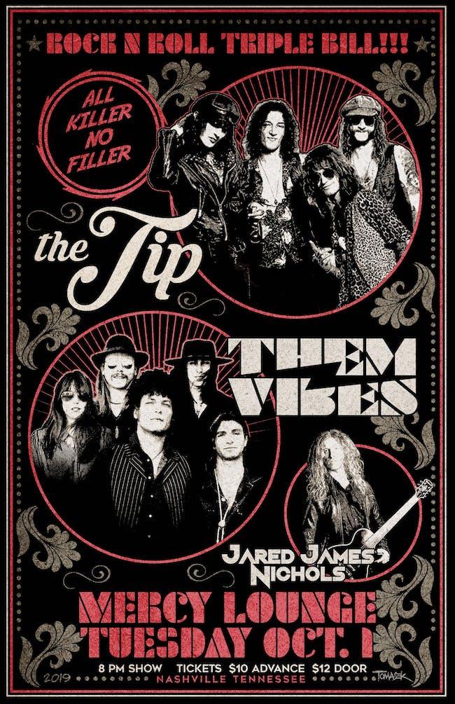 The Tip w/ Them Vibes & Jared James Nichols