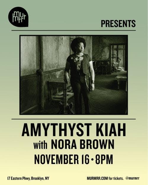 Amythyst Kiah w/ Nora Brown
