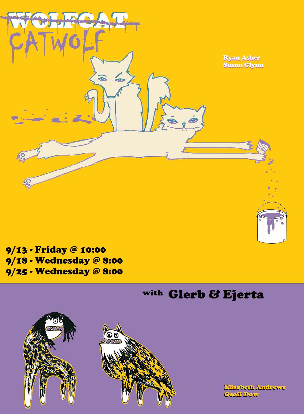 Randy / Glerb & Ejerta / Wolfcat Catwolf
