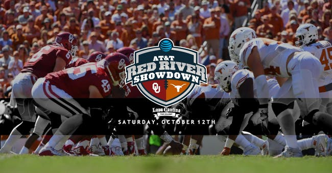 Red River Rivalry - Texas vs. OU Championship Watch Party
