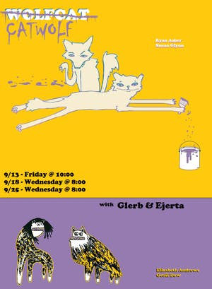 The Stacks / Glerb & Ejerta / Wolfcat Catwolf
