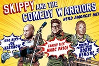 Skippy & The Comedy Warriors at Mesa Theater