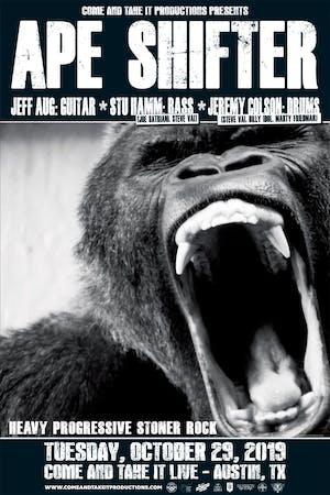APE SHIFTER (Feat. Jeff Aug, Stu Hamm and Jeremy Colson)