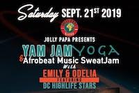 Jolly Papa Presents Yam Jam Yoga & Afrobeat Music SweatJam