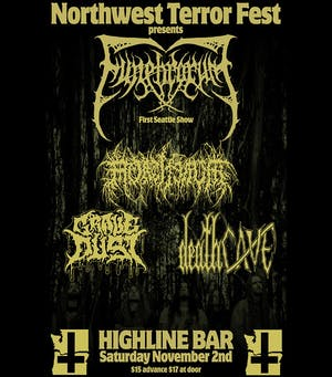 Funebrarum, Mortiferum, Grave Dust, deathCAVE