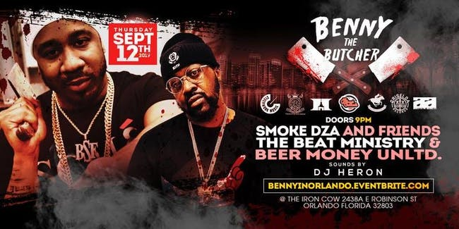 The Beat Ministry presents Benny the Butcher