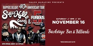 Sugarhill Gang X Furious 5 with Grandmaster Mele Mel & Scorpio