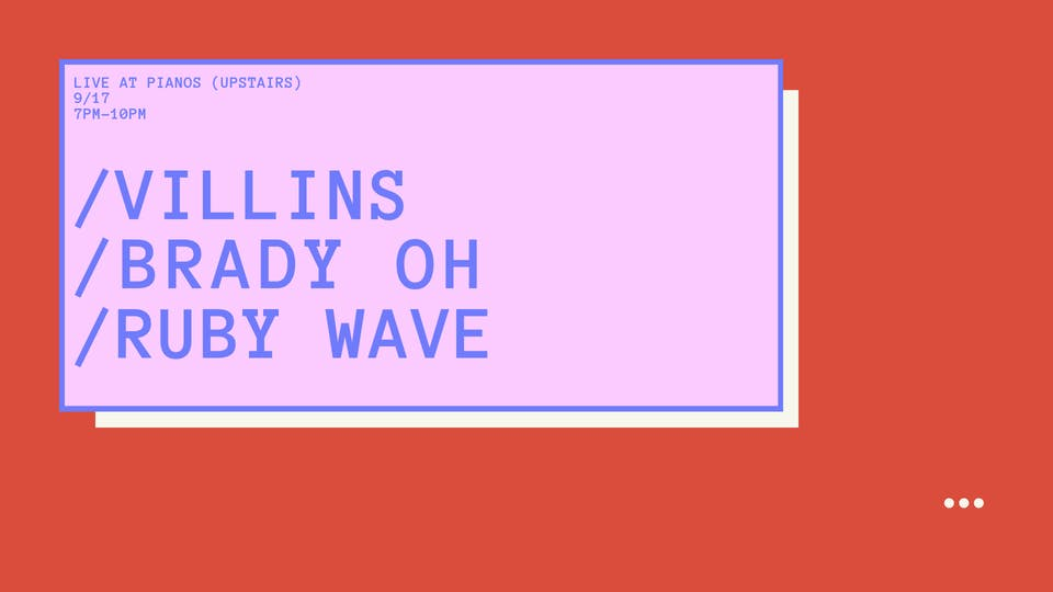 VILLINS, BRADY OH, RUBY WAVE (Free)