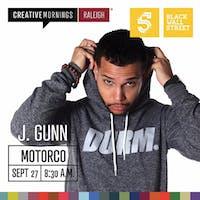 CreativeMornings: Joshua Gunn
