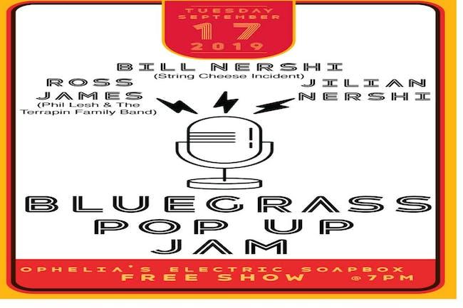 Bluegrass Pop Up Jam