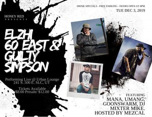 Elzhi + 60 East + Guilty Simpson