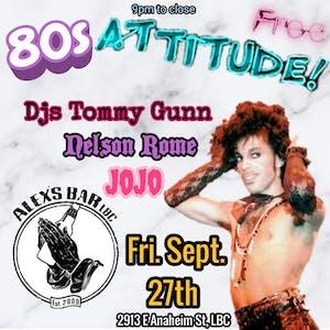 Attitude- An 80s Night