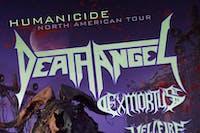 DEATH ANGEL /Exmortus /  Hellfire /Coven 6669  /Locistellar / DTF