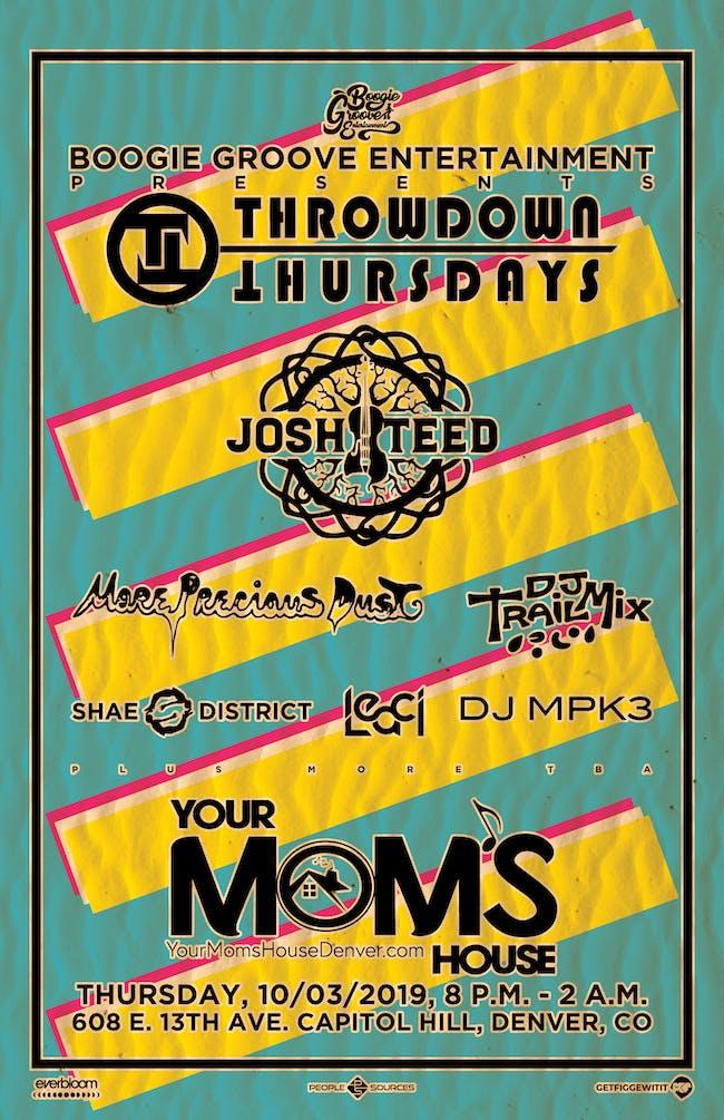 Josh Teed Violin // More Precious Dust // DJ Trail Mix // More!