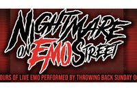 Nightmare on Emo Street: A Big Ass Halloween Party w/ Throwing Back Sunday!