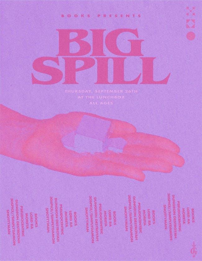 BIG SPILL AT LBX