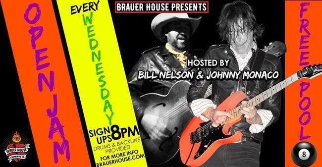 Open Jam Wednesdays at Brauer House