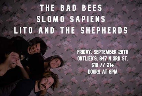 The Bad Bees / Slomo Sapiens / Lito and the Shepherds