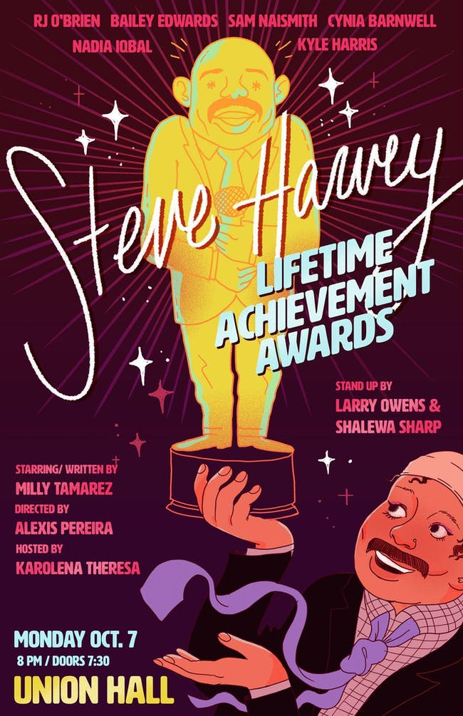 The Steve Harvey Lifetime Achievement Awards with  Milly Tamarez