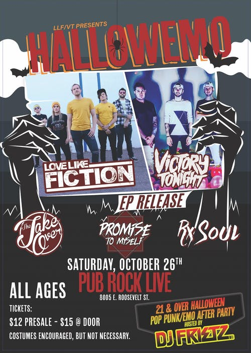 Love Like Fiction and Victory Tonight EP Release Party