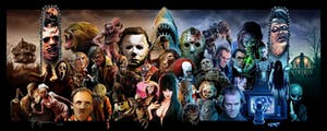 Brain Party Trivia- Horror Themed Night