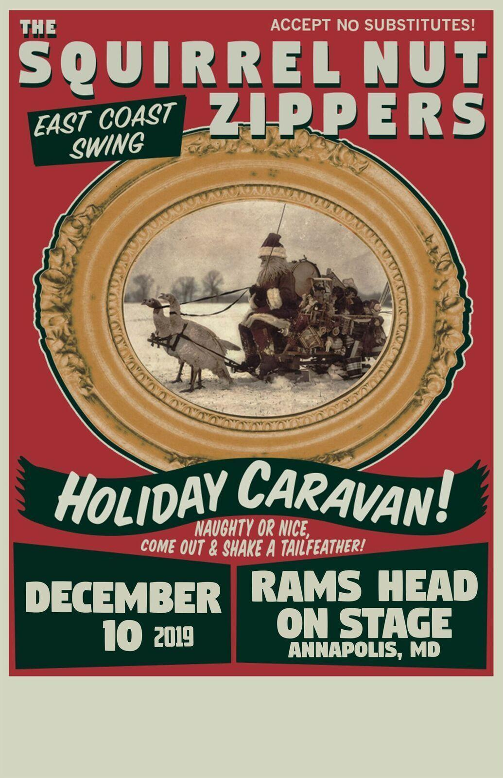 Squirrel Nut Zippers: Holiday Caravan Tour