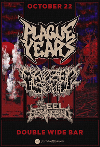 PLAGUE YEARS  • Frozen Soul • Steel Bearing Hand • Kombat