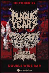 Plague Years • Frozen Soul • Steel Bearing Hand