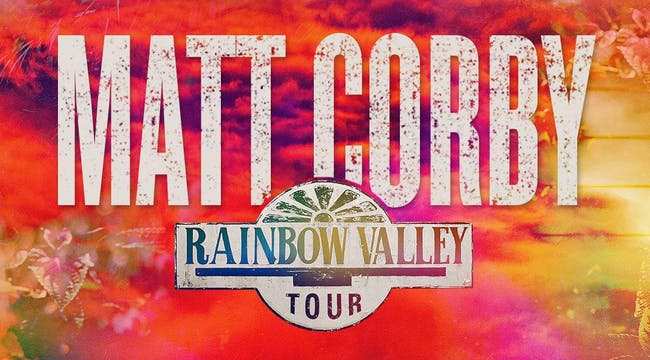 Matt Corby: Rainbow Valley Tour