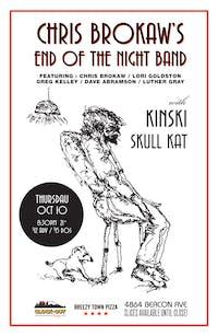 Chris Brokaw's End Of The Night Band