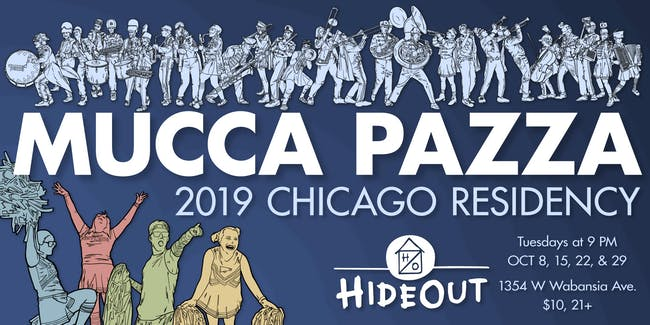 Mucca Pazza - October Residency! Night 4