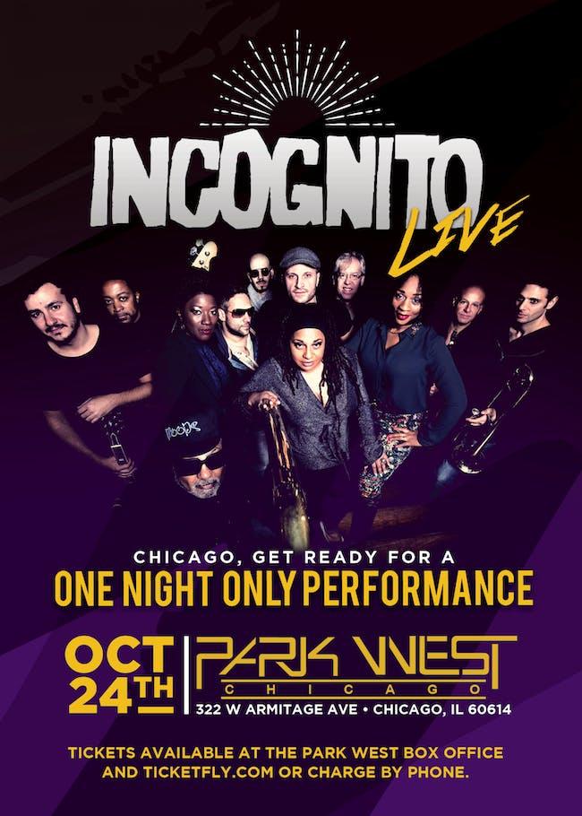 Incognito LIVE