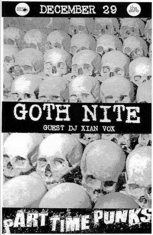 GOTH NITE w/Guest DJ Xian Vox [LADEAD]