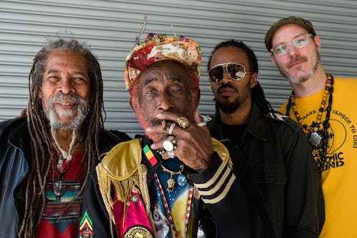 """LEE """"SCRATCH"""" PERRY + SUBATOMIC SOUND SYSTEM"""